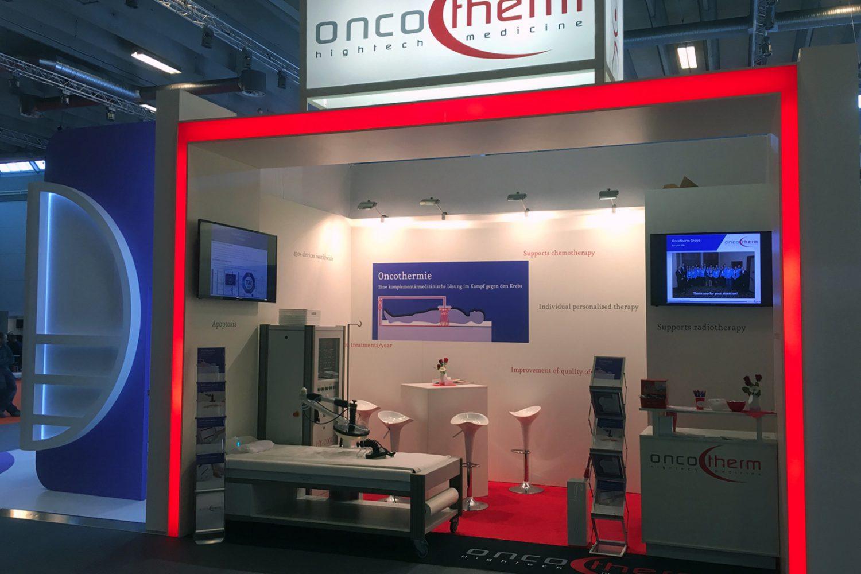 OncoTherm Messebau